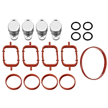 4pcs 22mm Swirl Flap Replacements Removal Blanks Manifold Gaskets for BMW M47