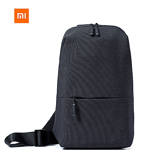 8a3b2db3a9a2 Xiaomi Xiaomi Mi Sling Bag Leisure Chest Pack Small Size Wear-resistant  Shoulder Type Backpack Crossbody Bag 4L Polyester Waterproof Urban Sports  Chest Bags ...