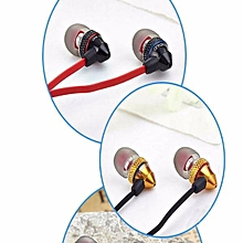 BIDENUO G500 Metal Wire Headset In-ear Earphone With Microphone For Cellphone Tablet