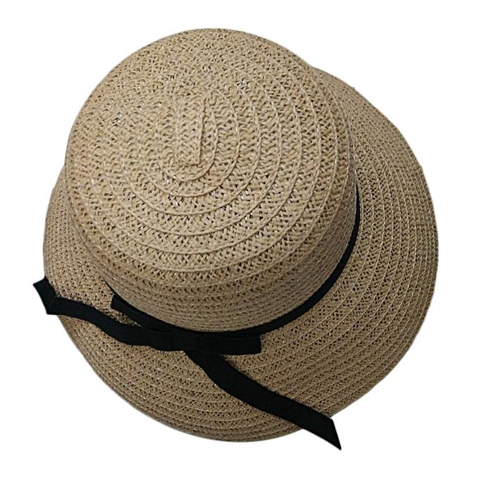 0fa4bd827c7 Fashion Elegant Women Girls Outdoor Sun Hats Caps Summer Beach Hat Straw Cap