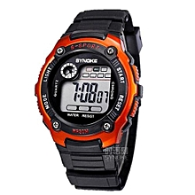 Kids Watches Children LED Digital Watch Girls Wrist Watch Boys Clock Child Sport Digital-watch For Girl Boy Surprise Gift(Orange)