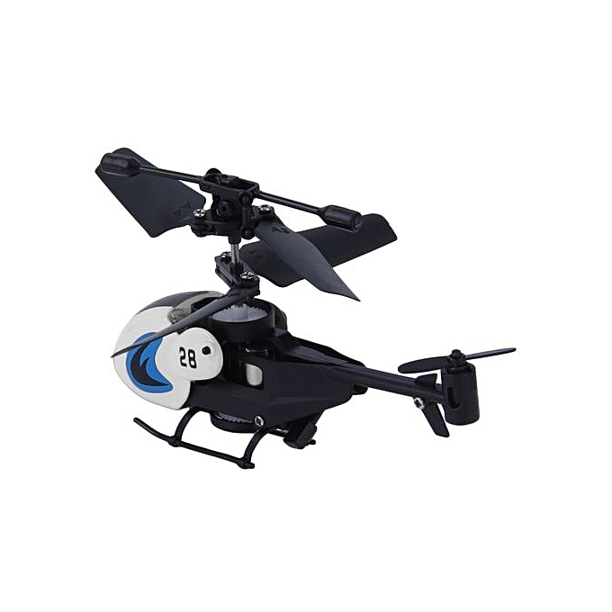 1 Pc Cool New Mini Helicopter With Remote Control RC Micro White