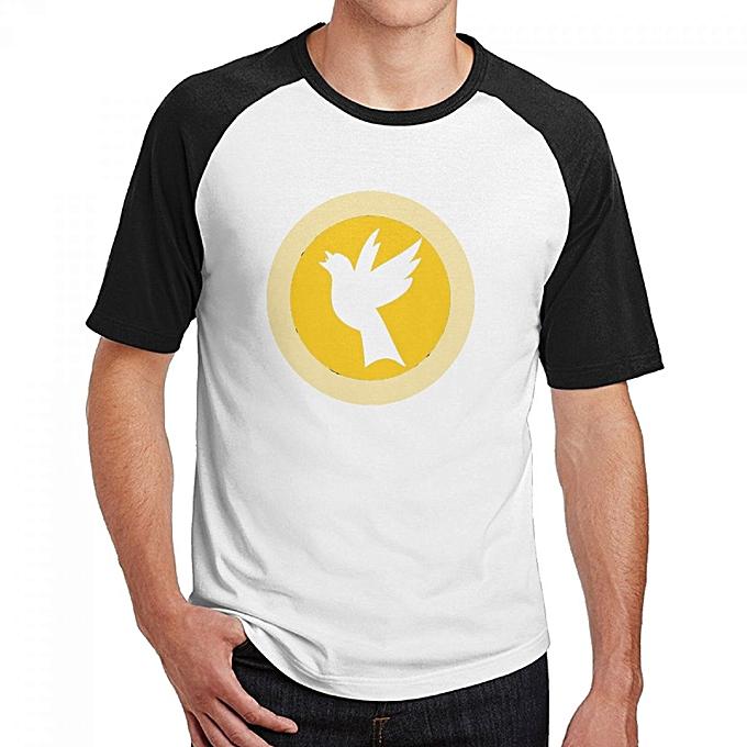 Buy Generic Black Canary Mens Cotton Short Baseball Raglan Sleeves