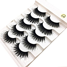 Eyelashes 1 Box Luxury 3D False Lashes Fluffy Strip Eyelashes Long Natural Party Black