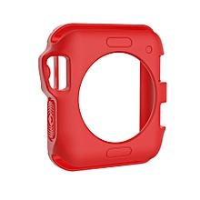 TPU Protective Case for Apple Watch Series 3 & 2 & 1 42mm(Red)