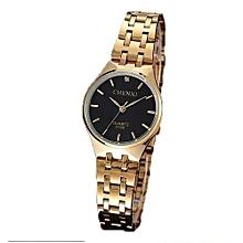 top fashion brand luxury watch womens golden watches waterproof casual quartz wristwatch female clock for feminine