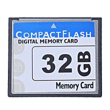Professional 4GB Compact Flash Memory Card(WhiteBlue)