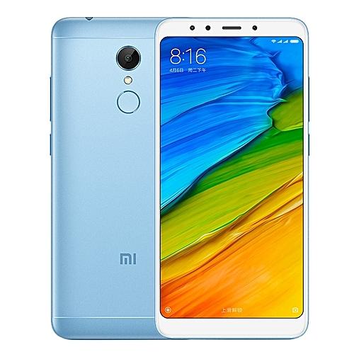 Redmi 5 Plus 3GB+32GB Global Official Version 5.99 Inch MIUI 9.0 Qualcomm Snapdragon 625 Octa Core 2.0GHz Dual SIM 4G Smartphone(Baby Blue)