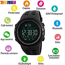 Men Smart Chrono Calories Pedometer Sports Watch Call Reminder Bluetooth Watches for ios android