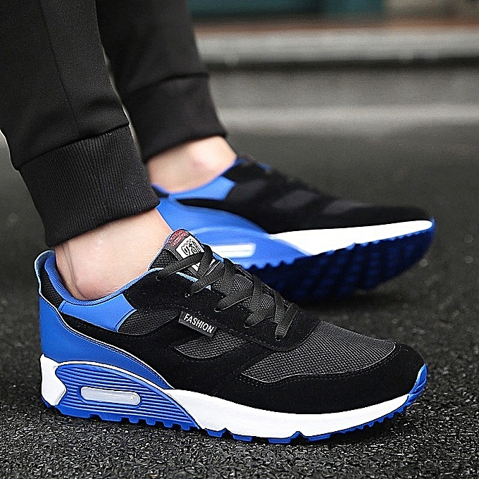 Stylish Men Breathable Jogging Thick Sole Air Cushion Shoes