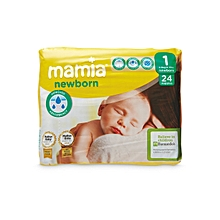 Newborn Baby Dry Diapers Size 1 for Babies Between 2-5kgs