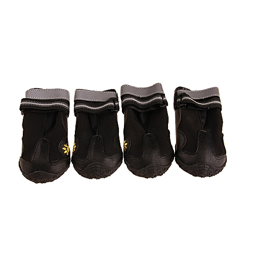 13ad71f7d92 Dog Boots Water Resistant Dog Shoes For Large Dogs Hiking Shoes Labrador  4Pcs