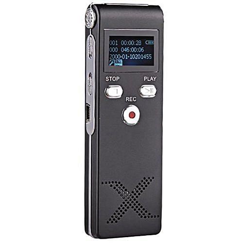 UNIVERSAL 8GB Multi-functional Digital Audio Voice Recorder Dictaphone USB MP3 Player