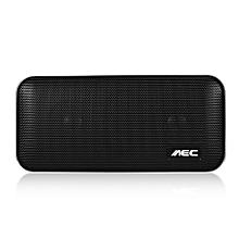 BT - 205 Portable Stereo Bass Bluetooth Speaker - Black