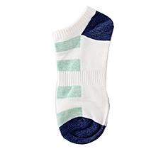 Men's Stripe Socks Women Casual Spring Summer Autumn Short Fashion Male Sock GN