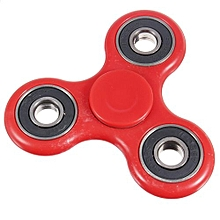 Hand Spinner Tri Fidget Finger Fingertip Gyro Steel Ball Desk Toy EDC Kid