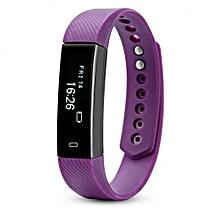 ID115 - Smart Bracelet for Android/IOS Sleep Monitor 45mAh - Purple