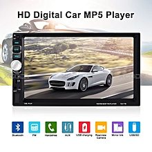 """7031TM 7"""" HD Bluetooth Car MP5 MP3 Player FM Radio USB AUX Mirror link Function"""
