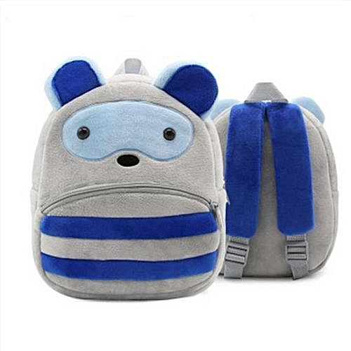 f1ff31994e 2018 Plush Children Backpacks Kindergarten Schoolbag 3D Cartoon Zoo Animal  mochila infantil Children School Bags for