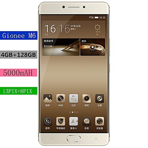 Gionee M6 Smart Phone 5.5 AMOLED 4G 4GB+64GB-128GB+wifi 5000MAh+Core Octet 1.8 GHz MT6755M