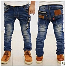 New Style Children's Trousers Thin Section Jeans Fashion  Boy