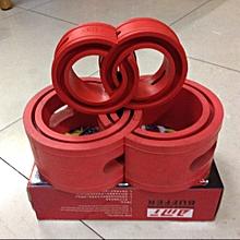 2 PCS Car Auto A/B-Type Shock Absorber Spring Bumper Power Cushion Buffer(Red) B