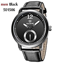 Future Design Mens Brand Watches Leather Strap Quartz Watch Casual Watch Man Water Resistant Wristwatch Relogio Masculino