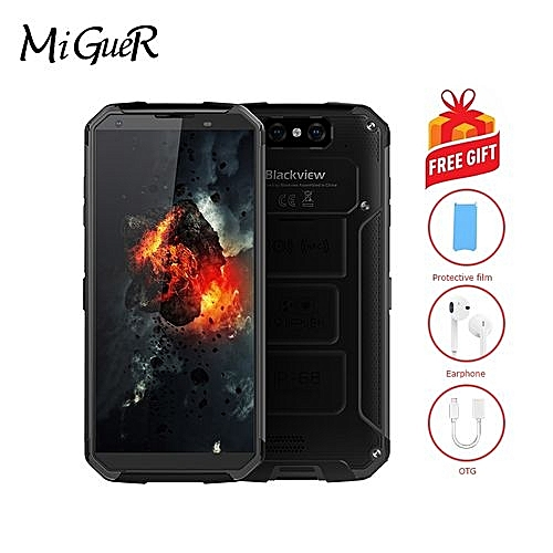 BV9500 5.7-inch IP68 Waterproof Phone 10000mAh Android 8.1 MT6763T Octa Core 4GB + 64GB Smartphone