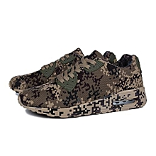 UL Fashion Camouflage Lovers Shoes Unisex Casual Breathable Sports Beige&brown