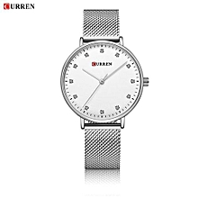 Women Watch New Quartz Wristwatches Top Brand Luxury Fashion Watches Ladies Quartz Wristwatch - Silver