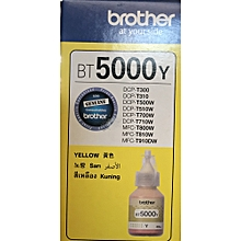 Ink cartridge yellow BT5000Y Bottle ink cartridge