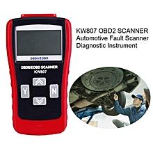 Auto Diagnostic Scanner J1850PWM kw807 CAN OBD2 Scanner Fault Code Reader For OBD2 CAN Obdii/Eobd Cars Escaner Appareil LBQ