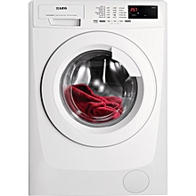 8KG WHITE FRONT LOAD SUPER-SILENT WASHING MACHINE 1400RPM - White