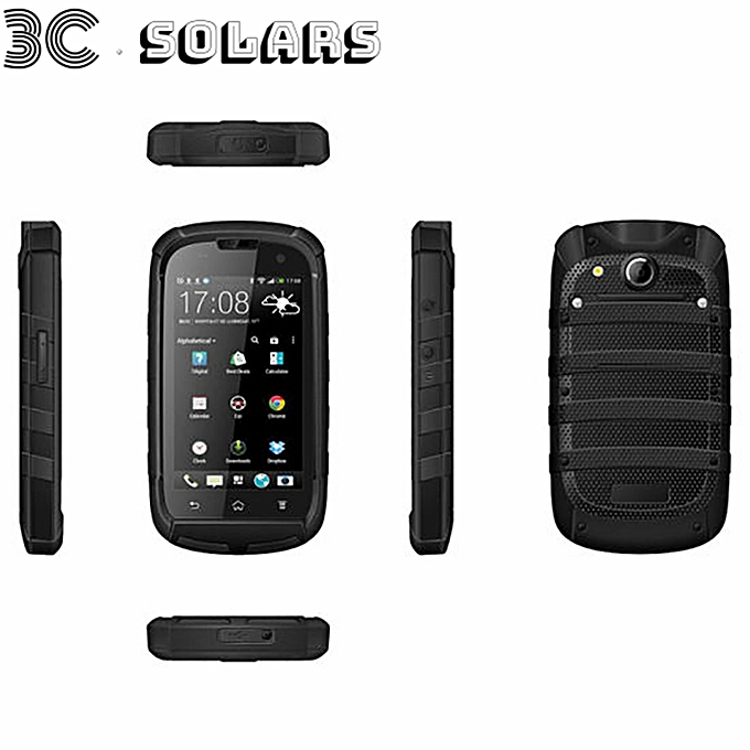 on sale 2cf59 817f2 W83 Waterproof 3G 2600mAh Dual SIM Smartphone