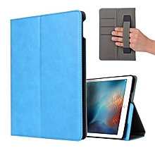 Handle Leather Stand Holder Case Cover Wake-Sleep For IPad 9.7 2017 SB