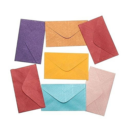 buy universal vintage small colored blank mini paper envelopes