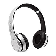 Headphone HandsFree Fashion Bluetooth Headset Bluetooth Sports Wireless Headphones S460 - Silver