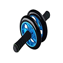ABD Double Wheel roller-black and blue