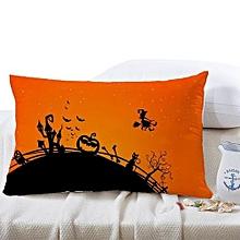 30*50cm Halloween Square Pillow Cover Cushion Case Pillowcase Zipper Closure