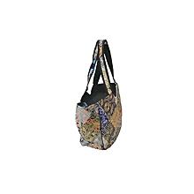 Multiple Zari Patch Handbag - Multicolour