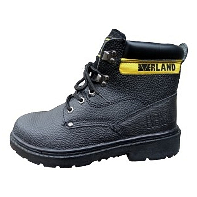 4c6e865a163 Everland Safety Boots-Black