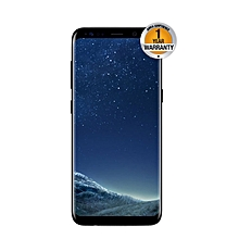 "Galaxy S8 - 5.8"" - 64GB - 4GB RAM - 12 MP Camera - 4G/LTE - Single SIM - Black"