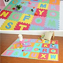 6pcs Puzzle Mat Baby Crawling Mat, Soft & Comfortable DIY Mat