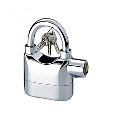 Security Alarm PadLock - silver