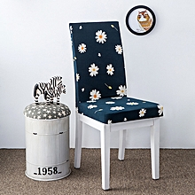 KCASA WX-PP6 Elegant Flower Landscape Elastic Stretch Chair Seat Cover Dining Room Home Wedding