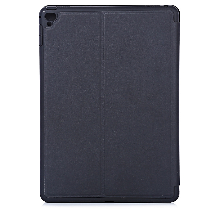 new style 799b1 c291e Faux Nappa Smart Magnetic Cover Case Stand Function For IPad Pro 9.7 - Black