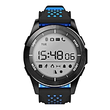 Smart Watch IP68 Waterproof Bluetooth 4.0 Pedometer Sport Fitness For iOS/Android - Black & Blue