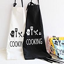 KCASA KC-APR04 Cotton Linen Dirty Proof Chef Apron Fashion Lattice Unisex Women Man Aprons Commercia