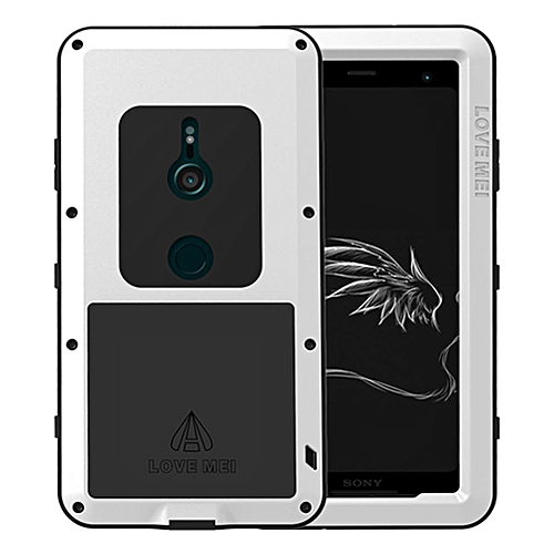 new concept bd0df aaabf Sony Xperia XZ3 Waterproof Case, Shockproof Snowproof Dustproof Durable  Aluminum Metal Heavy Duty Full-body Protection Case Cover for Sony Xperia  XZ3