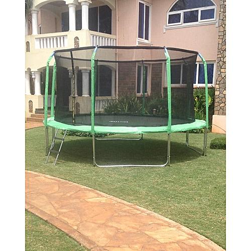 Thrifty Trampoline 14 Feet Green Best Price Jumia